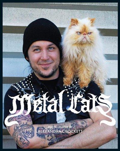 猫好きなメタルバンドが猫を救済するために写真集『Metal Cats』を作ったらしいぞ!!